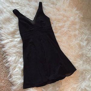 NWOT Express Little Black Dress Sz: 2